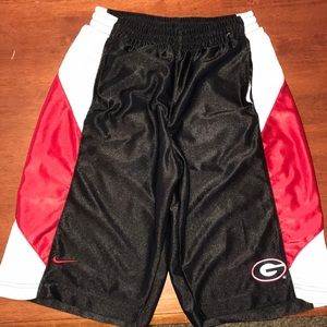 Boys Georgia basketball shorts